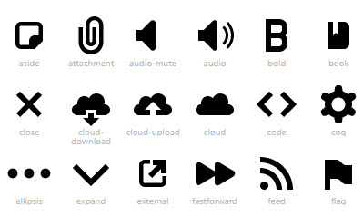 icon web fonts